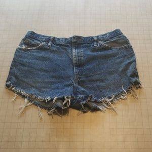 Vintage Lee Cutoff Jean Shorts Size 36